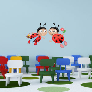 Ladybugs II-Wall Decal