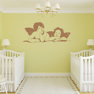 Two Angels-Wall Decal