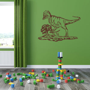 Tyrannosaurus rex Decal-dinosaur Wall Decals-Style and Apply