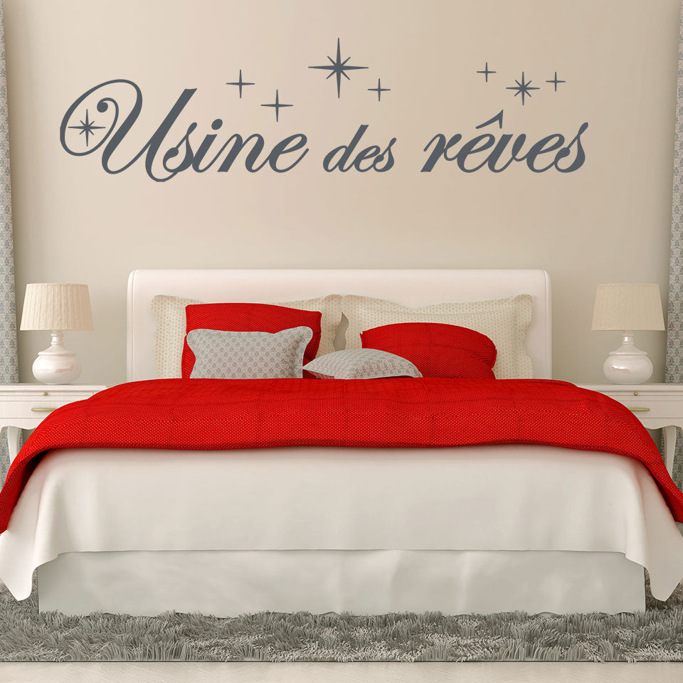 Usine des Reves Wall Decal