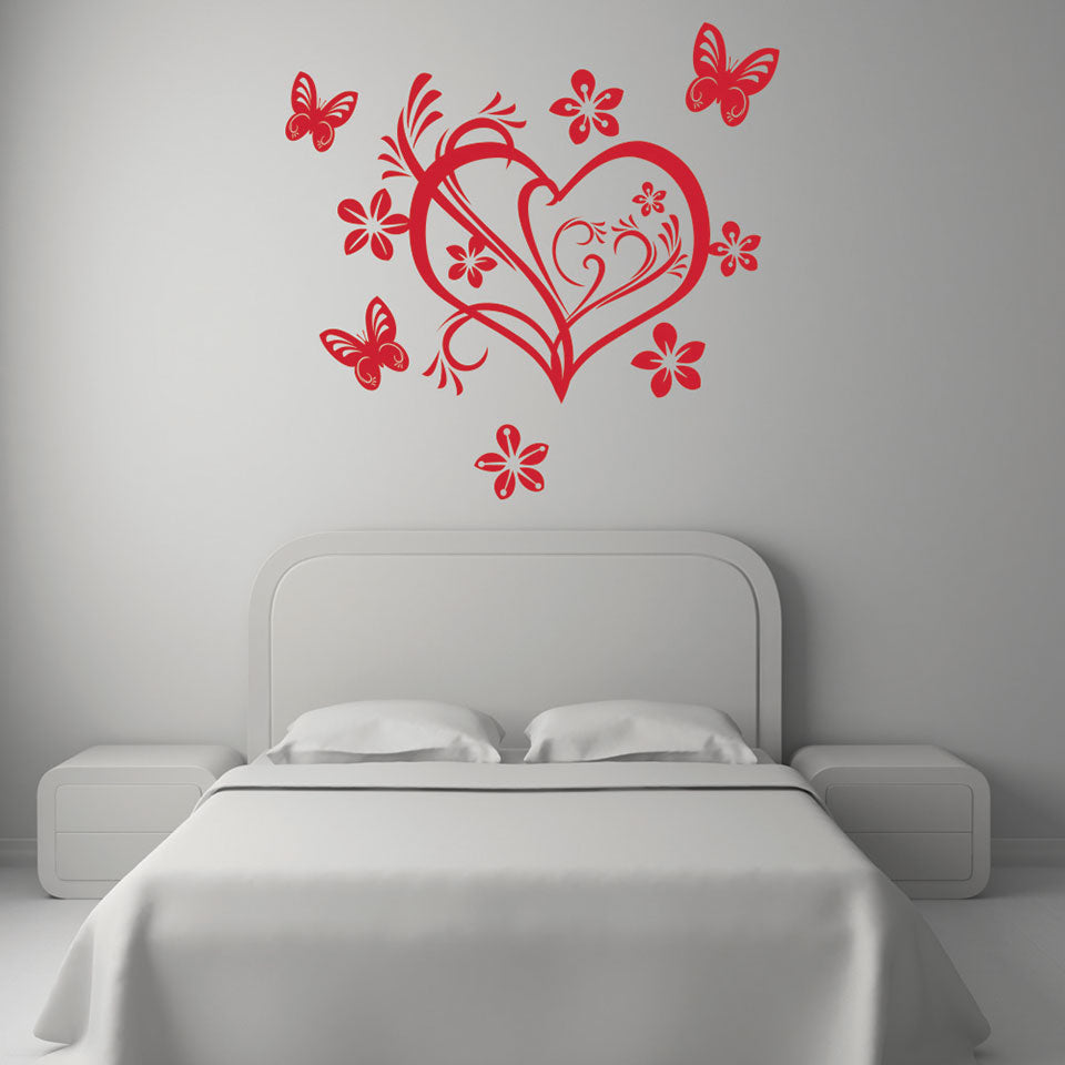 Valentine Heart-Wall Decal