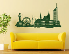 Vienna Skyline Decal-Wall Decals-Style and Apply