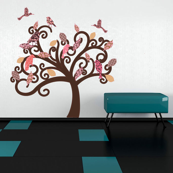 Vintage Tree Wall Decal