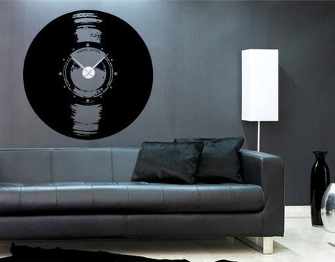 Vinyl Love-Wall Decal Clocks-Style and Apply