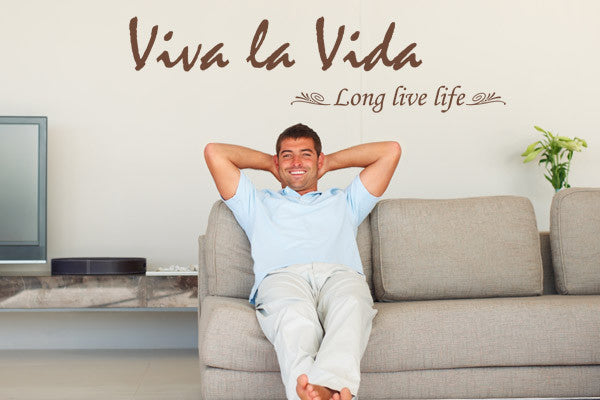 Viva La Vida-Wall Decals-Style and Apply