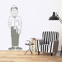 Waiter Decal