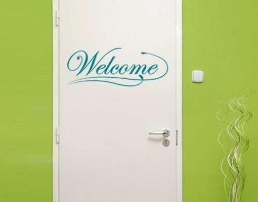 Welcome Sign Wall Decal-Wall Decals-Style and Apply