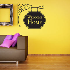 Welcome Home-Wall Decal