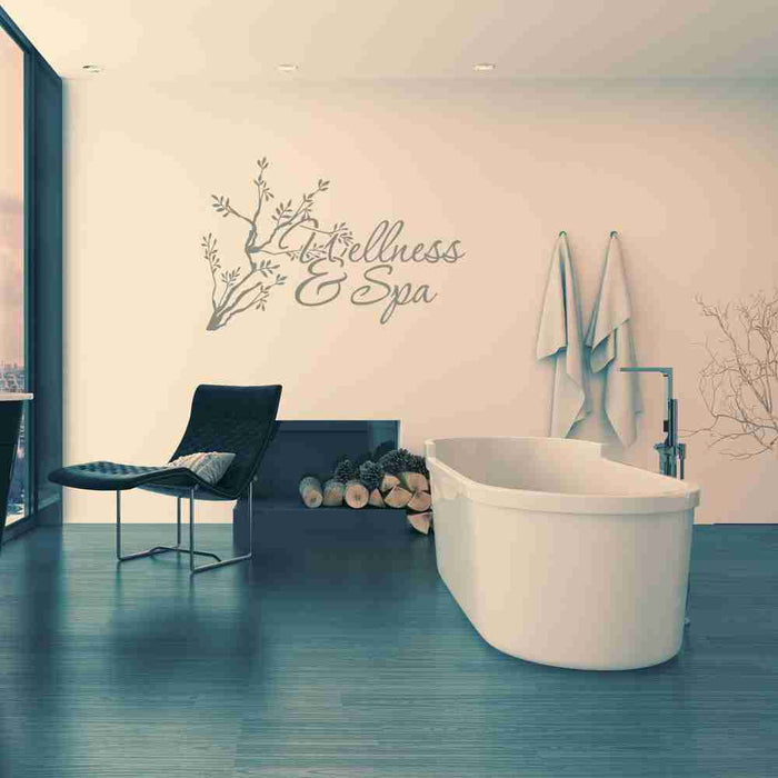 Wellness & Spa Wall Decal