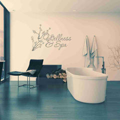 Wellness & Spa Wall Decal-Wall Decals-Style and Apply
