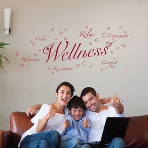 Wellness II-Wall Decal