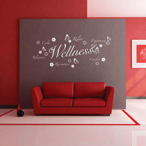 Wellness III-Wall Decal