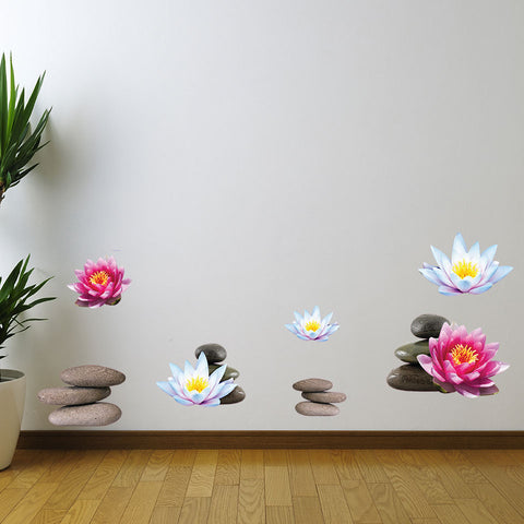 Wellness Set-Wall Decal Sticker