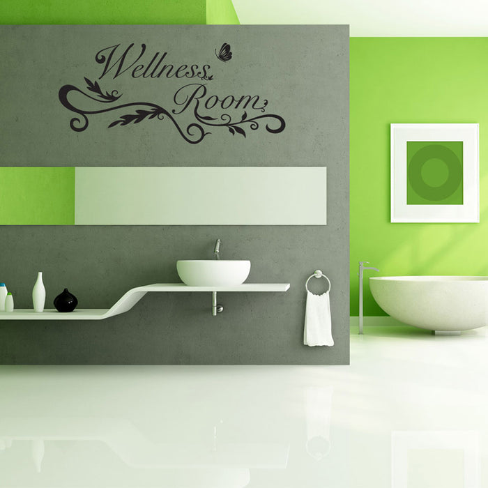Wellness Room Wall Decal