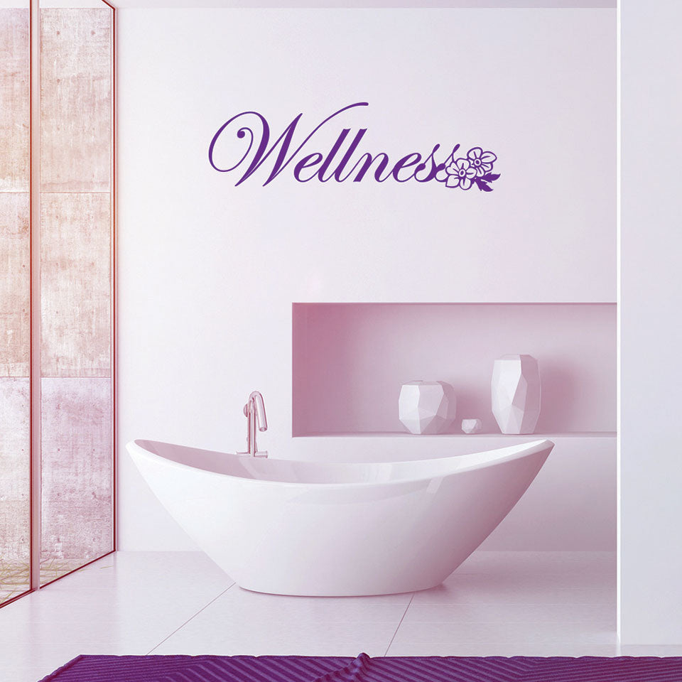 Wellness-Wall Decal
