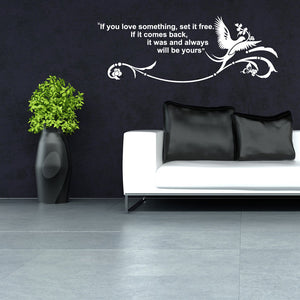 What You Love-Wall Decal