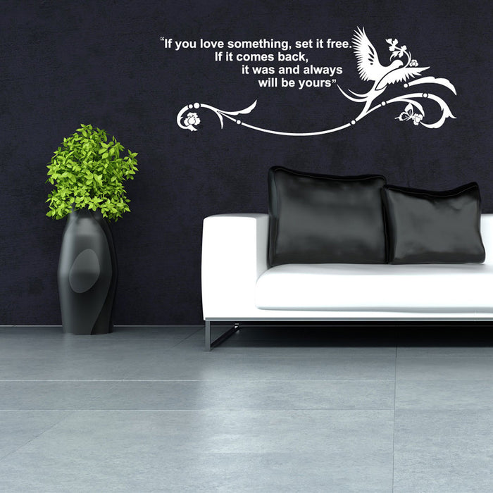 What You Love Wall Decal
