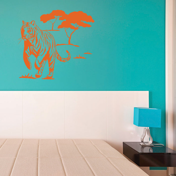 Wild Tiger Wall Decal