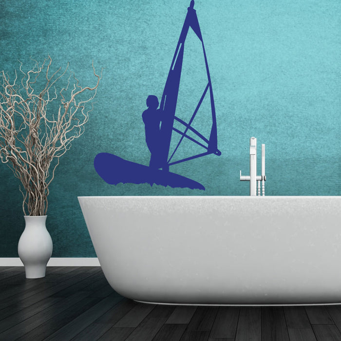 Sailboard Wall Decal