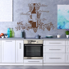 Wine Pleasure-Wall Decal