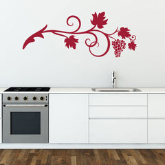 Wine Vine Decal
