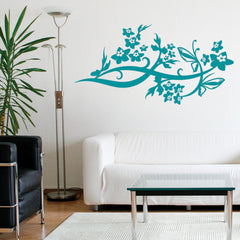 Wing Vine Decal