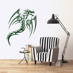 Winged Dragon Decal