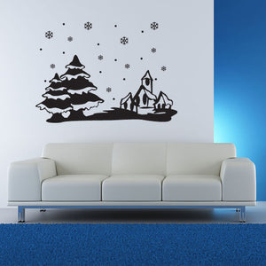 Snowscape Decal
