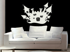 Witches House-Wall Decals-Style and Apply