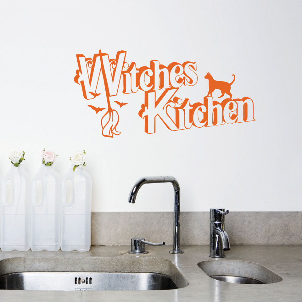 Witches Kitchen Decal