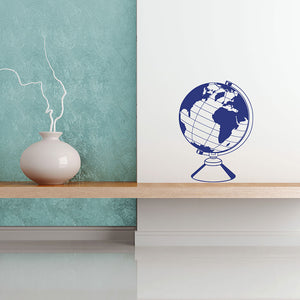Globe-Wall Decals-Style and Apply