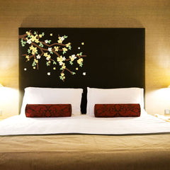 Yellow Blossom branch Wall Decal Sticker