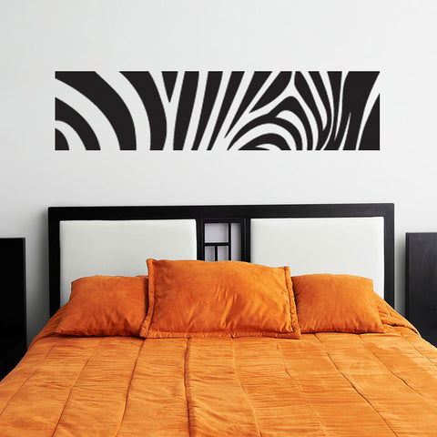 Zebra Print-Wall Decal