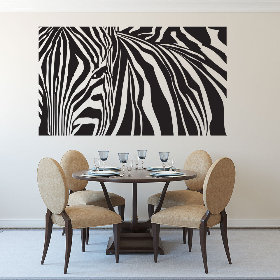 Zebra Stripes-Wall Decal