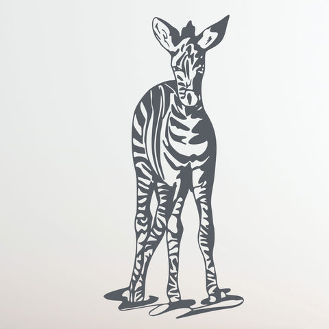 Zebra-Wall Decal
