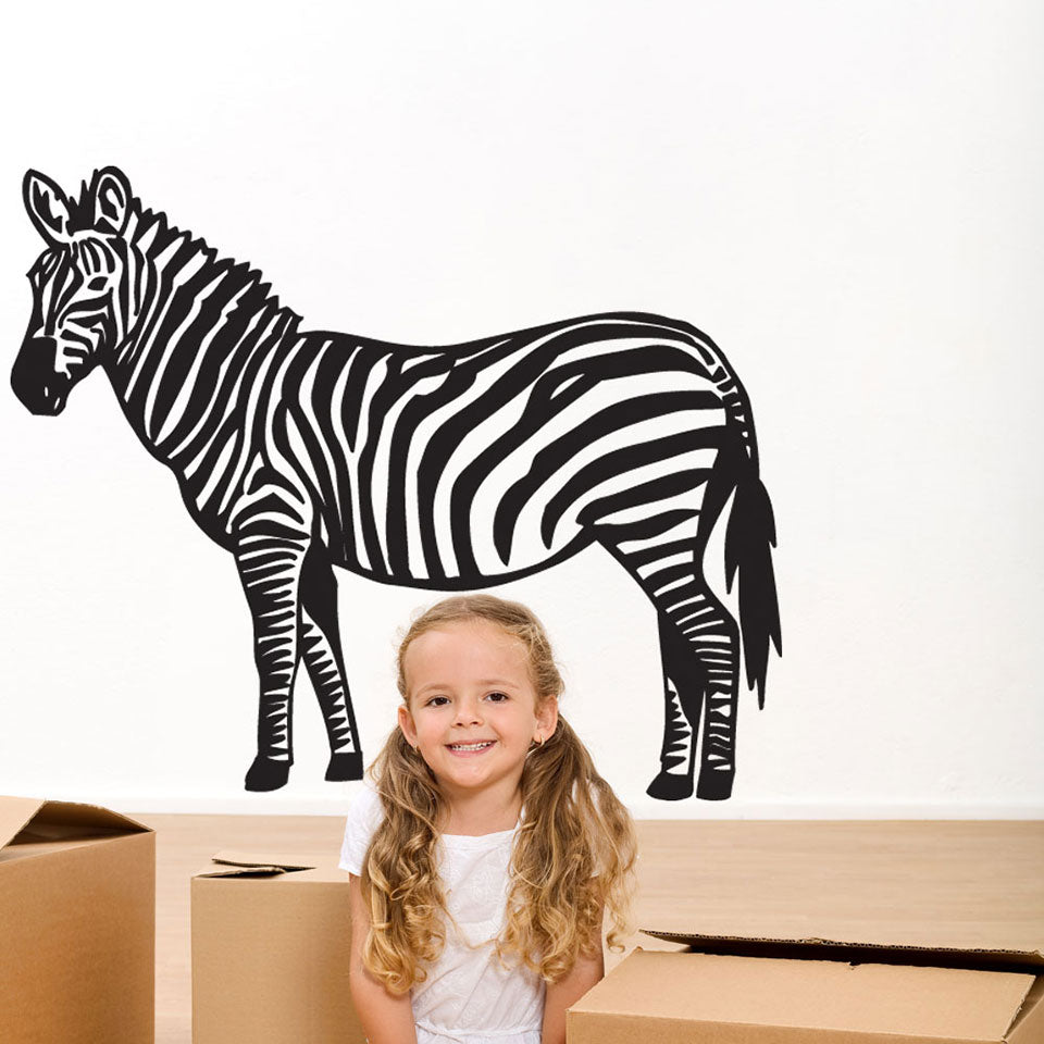 Zebra II Wall Decal