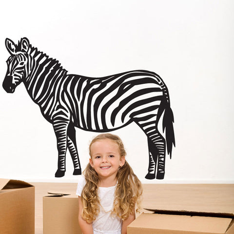 Zebra II-Wall Decal