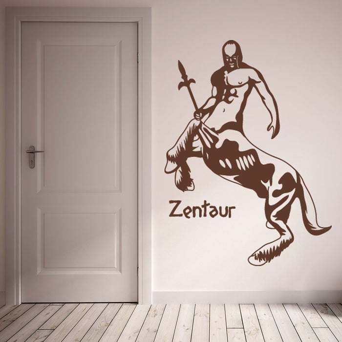 Zentaur Wall Decal