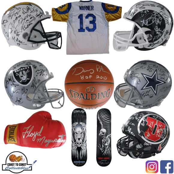 Coast to Coast Collectibles: 2017 blog | Coast to Coast Collectibles Memorabilia