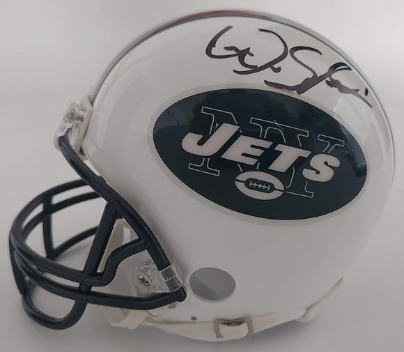 ArDarius Stewart autographed New York Jets mini football helmet COA proof