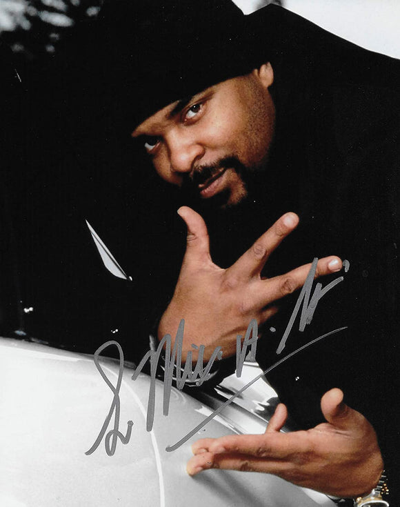Sir Mix A Lot signed 8x10 photo Baby Got Back Rapper COA exact proof STAR.