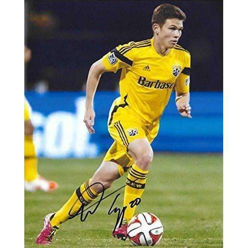 Wil Trapp, Columbus Crew SC, USA, Signed, Autographed, 8X10 Photo, a Coa with the Proof Photo of Wil Signing Will Be Included