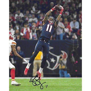 Jaelen Strong Houston Texans, ASU, Signed, Autographed, 8X10 Photo, a COA with the Proof Photo of Jaelen Signing Will Be Included