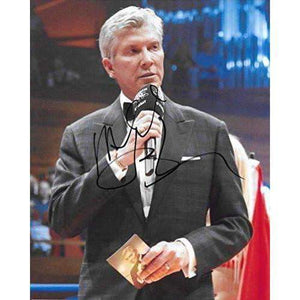 Michael Buffer, Ring Announcer, Signed, Autographed, 8X10 Photo, A COA With The Proof Photo of Michael Signing Will Be Included. Boxing