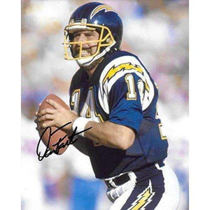Dan Fouts, San Diego Chargers, Signed, Autographed, 8x10 Photo, A COA With The Proof Photo Will Be Included