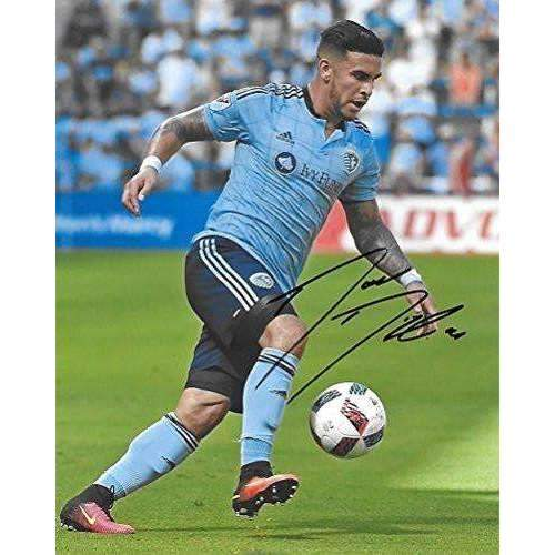 Dom Dwyer, Sporting Kansas City, Signed, Autographed, 8x10 Photo, a Coa with the Proof Photo of Dom Signing Will Be Included,