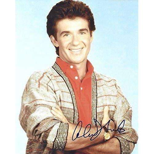 Alan Thicke, Growing Pains, actor, movie star, signed, autographed, 8x10 photo - COA and proof.
