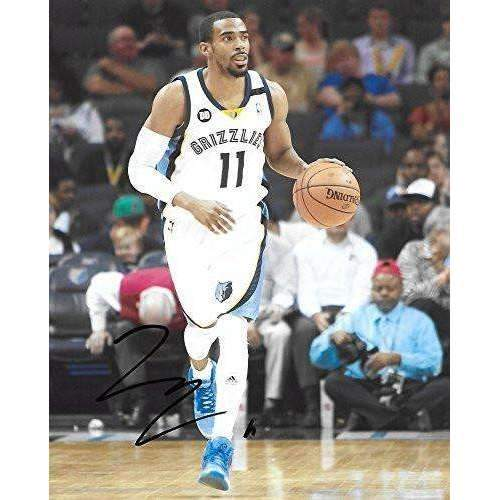 Mike Conley, Memphis Grizzlies, Signed, Autographed, Basketball, 8X10 Photo, a Coa with the Proof Photo of Mike Signing Will Be Included..