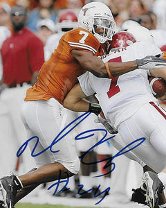 Michael Huff Texas Longhorns signed autographed, 8x10 Photo, COA will be included