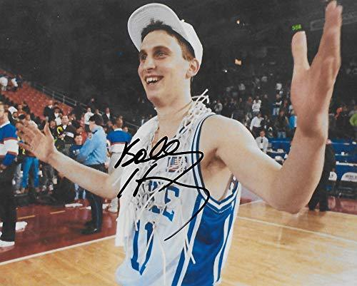 Bobby Hurley Duke Blue Devils signed, autographed, Basketball 8x10 photo + proof COA,